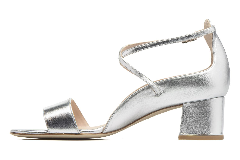 Sandales et nu-pieds L.K. Bennett Dina Argent vue face