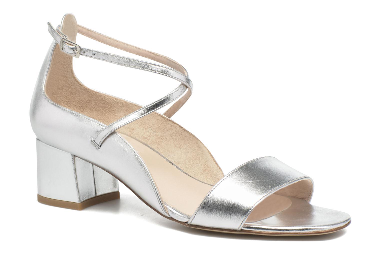 Sandales et nu-pieds L.K. Bennett Dina Argent vue détail/paire