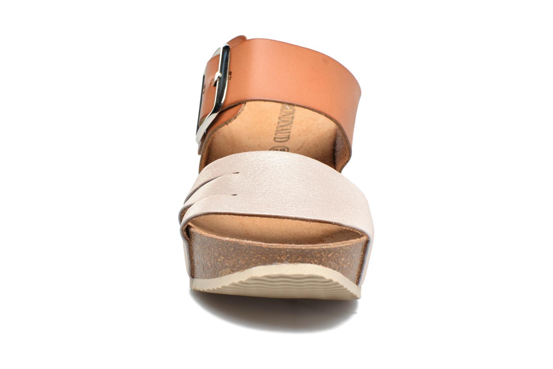 Sandales et nu-pieds Rondinaud Cance Rose vue portées chaussures