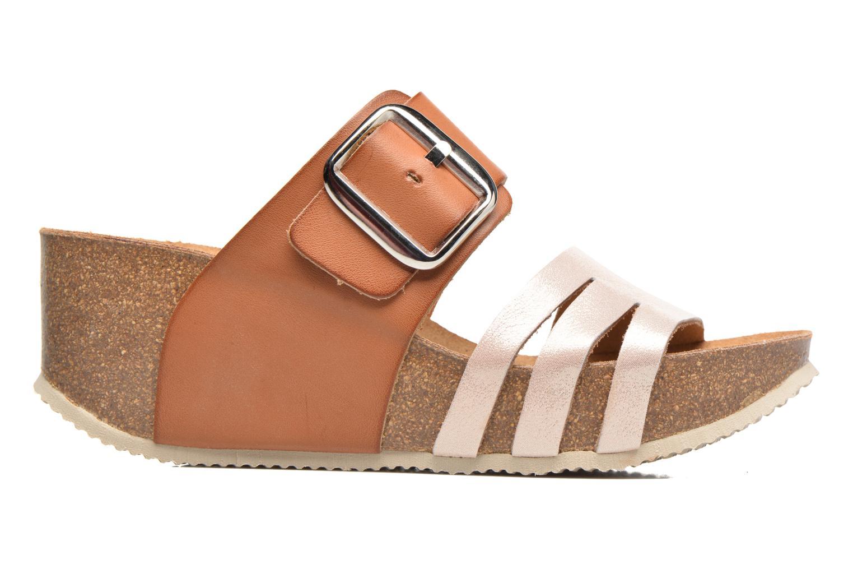 Sandales et nu-pieds Rondinaud Cance Rose vue derrière