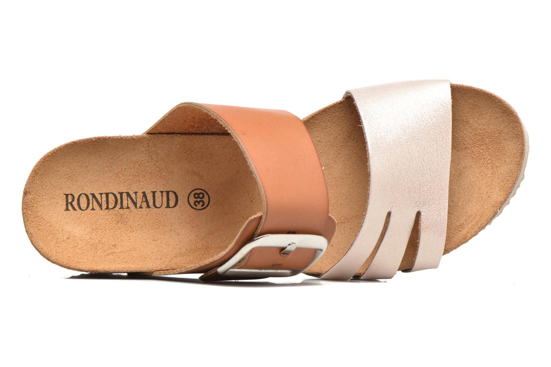 Sandales et nu-pieds Rondinaud Cance Rose vue gauche