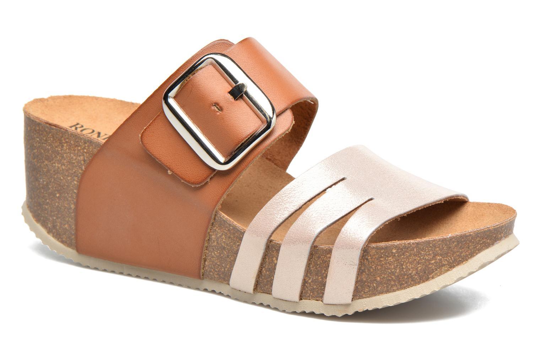 Sandales et nu-pieds Rondinaud Cance Rose vue détail/paire