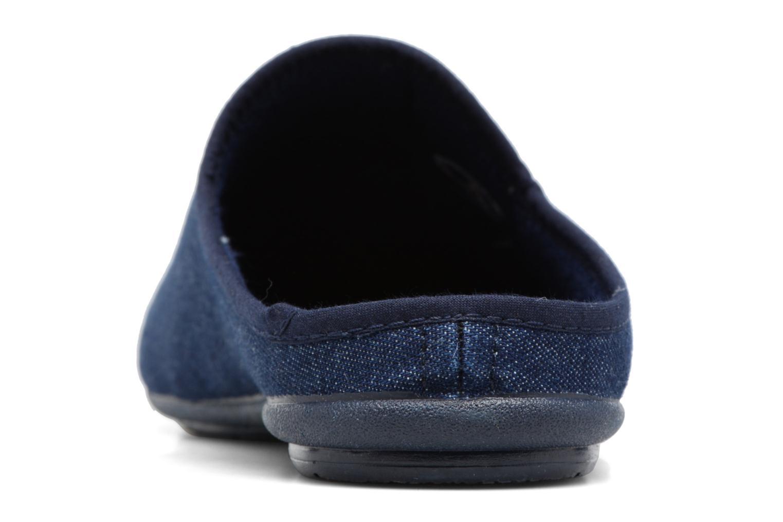 Chaussons Rondinaud Airan Bleu vue droite