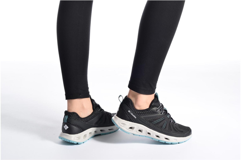 Chaussures de sport Columbia Vent Master Noir vue bas / vue portée sac