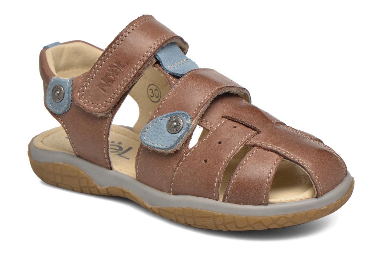 Sandales et nu-pieds Noël Tyler Marron vue détail/paire
