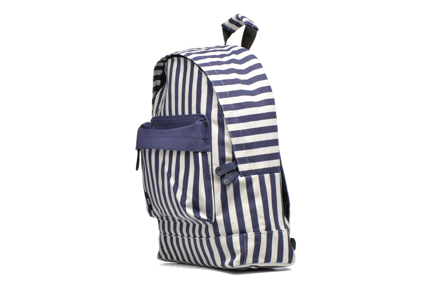Rucksacks Mi-Pac Premium Seaside Stripe Backpack Blue model view
