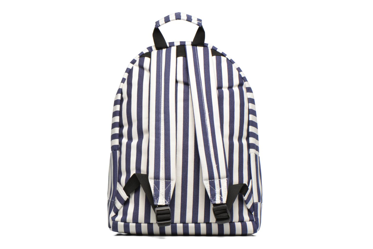 Rucksacks Mi-Pac Premium Seaside Stripe Backpack Blue front view