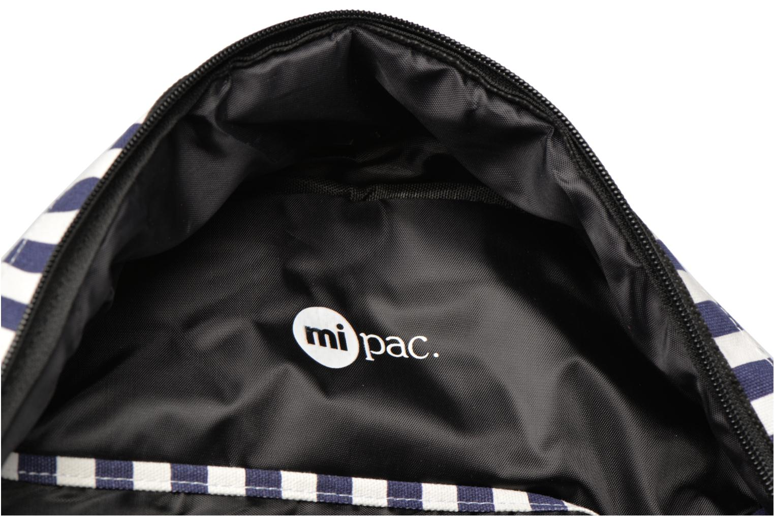 Rucksacks Mi-Pac Premium Seaside Stripe Backpack Blue back view