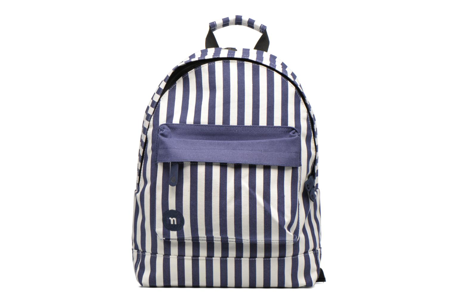 Rucksacks Mi-Pac Premium Seaside Stripe Backpack Blue detailed view/ Pair view