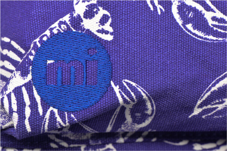 Rucksacks Mi-Pac Premium Print Blue view from the left