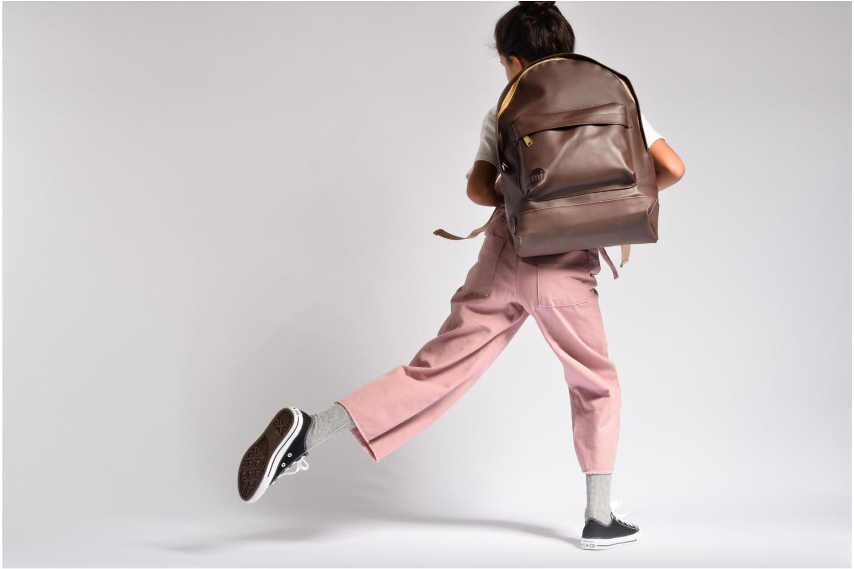 Sacs à dos Mi-Pac Gold Backpack Argent vue haut