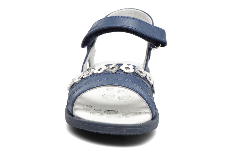 Sandales et nu-pieds Chicco Cesira Bleu vue portées chaussures