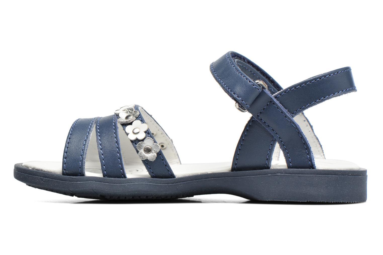Sandales et nu-pieds Chicco Cesira Bleu vue face
