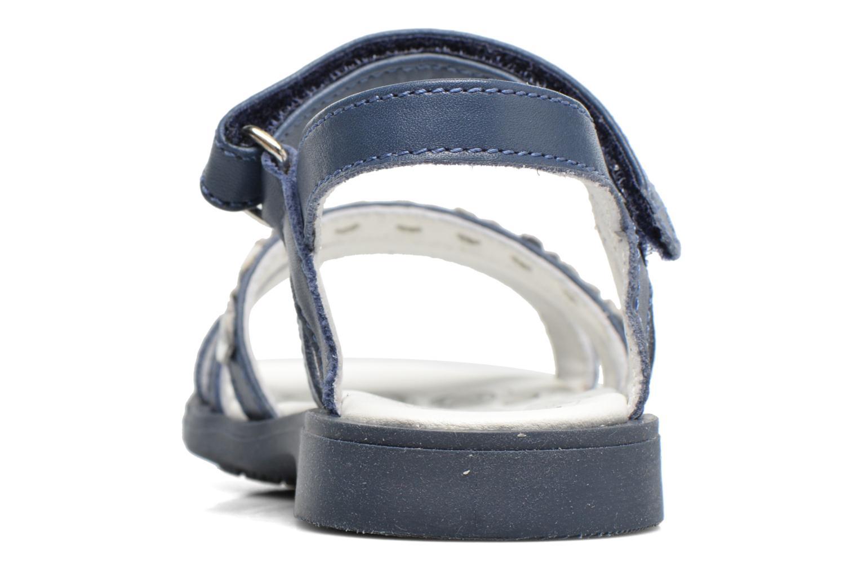 Sandales et nu-pieds Chicco Cesira Bleu vue droite