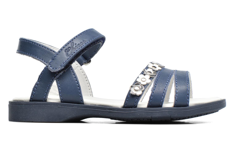Sandales et nu-pieds Chicco Cesira Bleu vue derrière