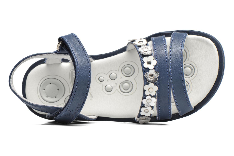 Sandales et nu-pieds Chicco Cesira Bleu vue gauche