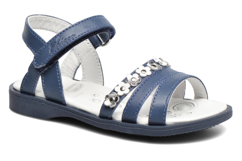 Sandales et nu-pieds Chicco Cesira Bleu vue détail/paire
