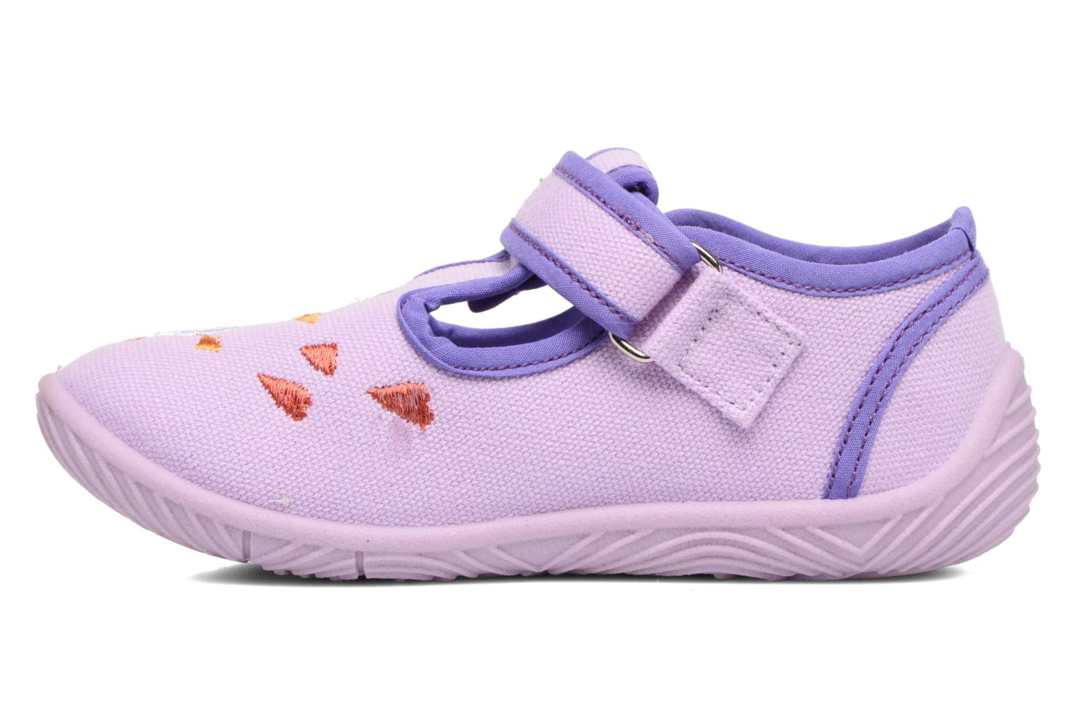 Chaussons Chicco Tobia Violet vue face