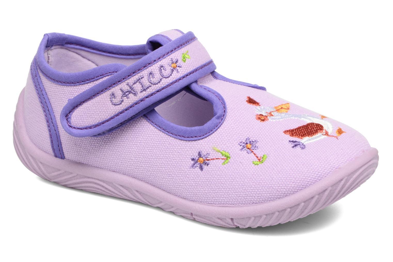 Chaussons Chicco Tobia Violet vue détail/paire