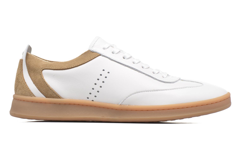 Roger Cuir blanc & daim beige
