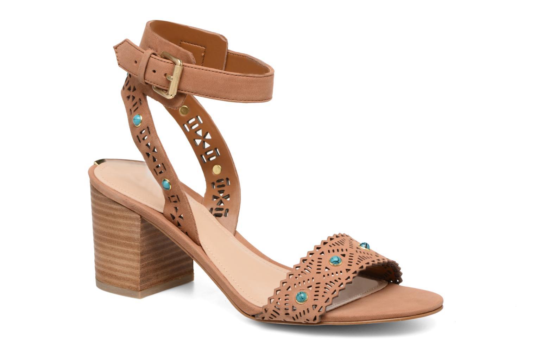 Sandales et nu-pieds Guess NADDA Marron vue détail/paire