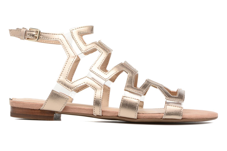 Sandales et nu-pieds Guess RAMLEE Or et bronze vue derrière