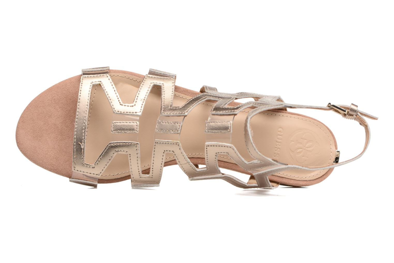 Sandales et nu-pieds Guess RAMLEE Or et bronze vue gauche