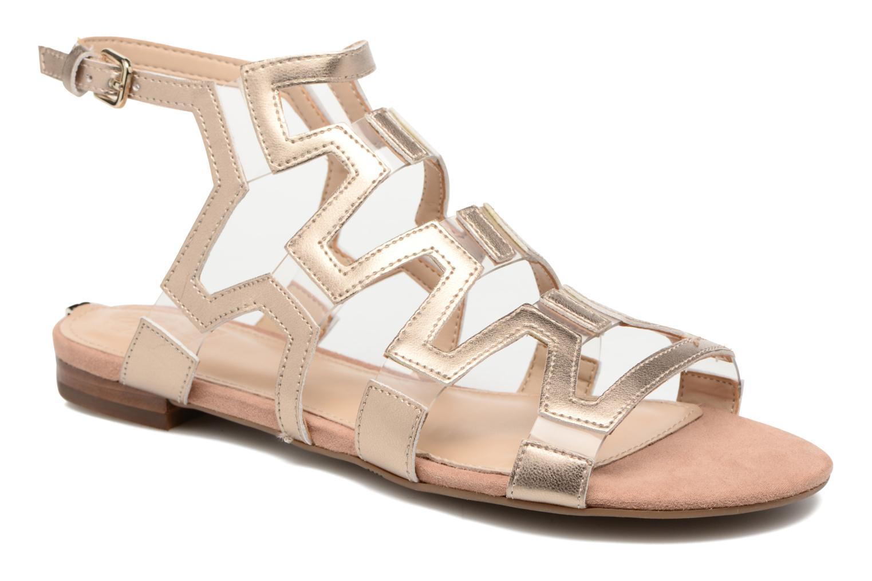 Sandales et nu-pieds Guess RAMLEE Or et bronze vue détail/paire