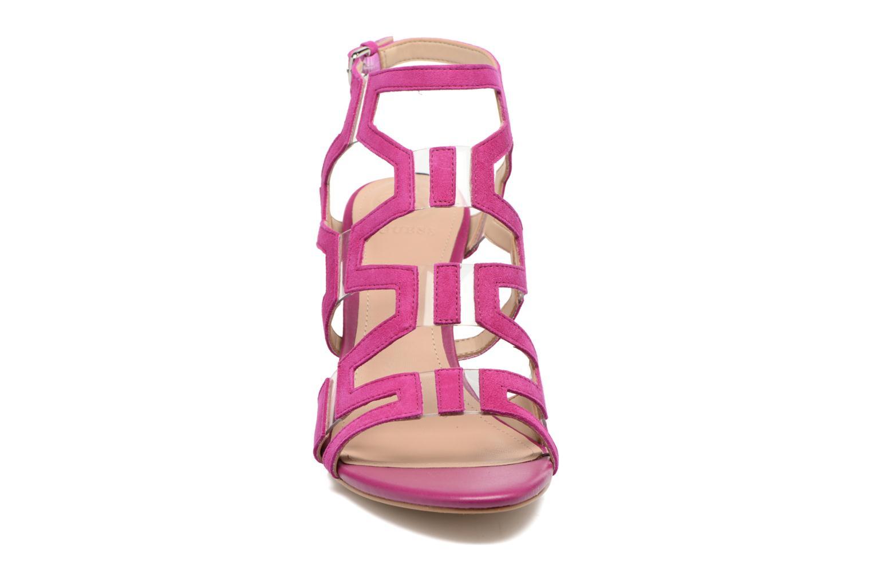 Sandales et nu-pieds Guess CYARRA Violet vue portées chaussures