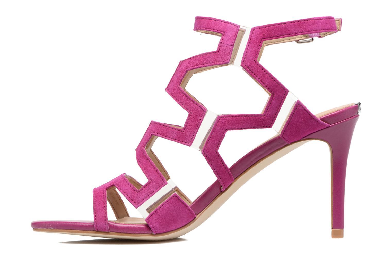 Sandales et nu-pieds Guess CYARRA Violet vue face