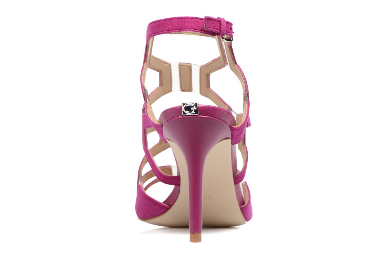 Sandales et nu-pieds Guess CYARRA Violet vue droite