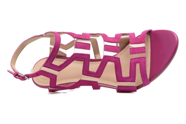 Sandales et nu-pieds Guess CYARRA Violet vue gauche