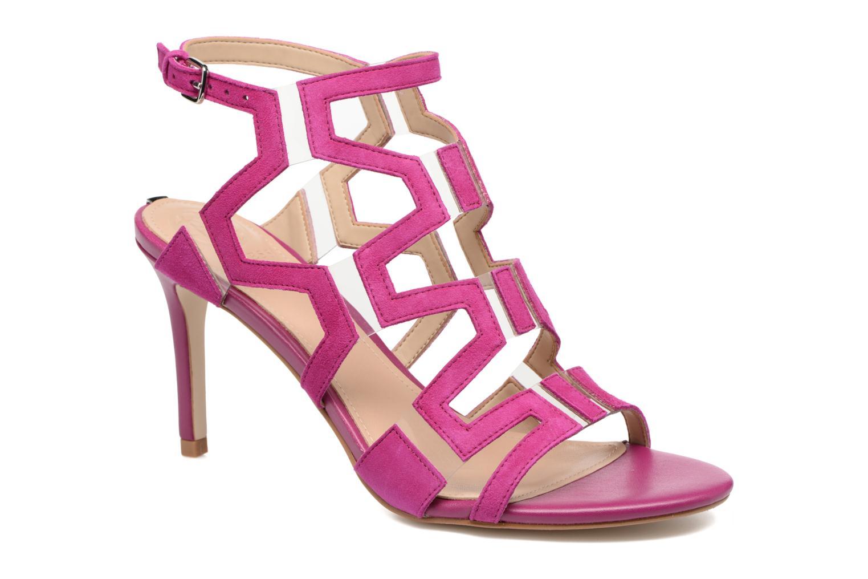Sandales et nu-pieds Guess CYARRA Violet vue détail/paire