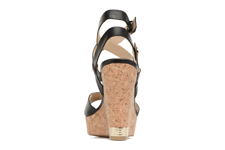 Sandales et nu-pieds Guess HARANA Noir vue droite