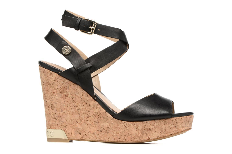 Sandales et nu-pieds Guess HARANA Noir vue derrière