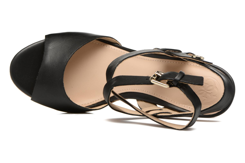 Sandales et nu-pieds Guess HARANA Noir vue gauche