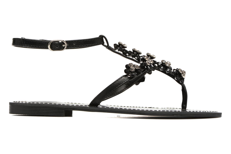 Sandales et nu-pieds Guess LESLIE Noir vue derrière