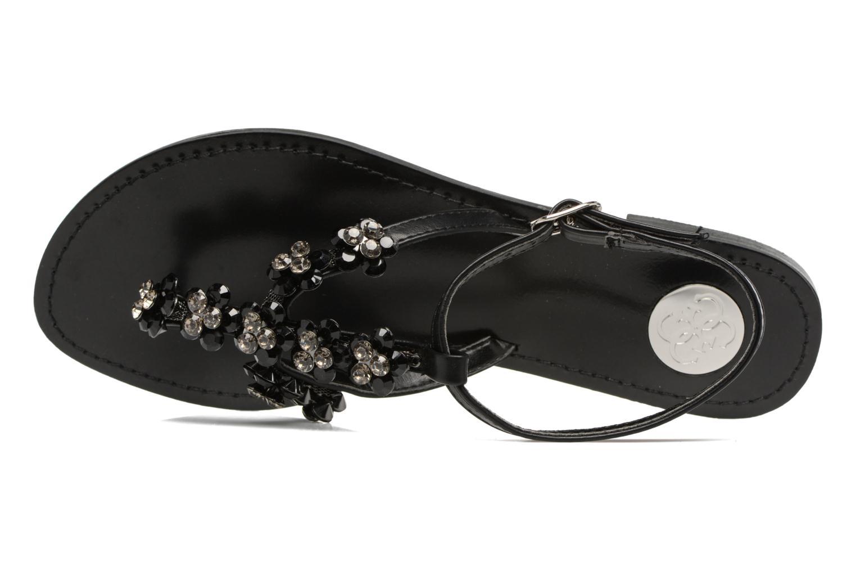 Sandales et nu-pieds Guess LESLIE Noir vue gauche
