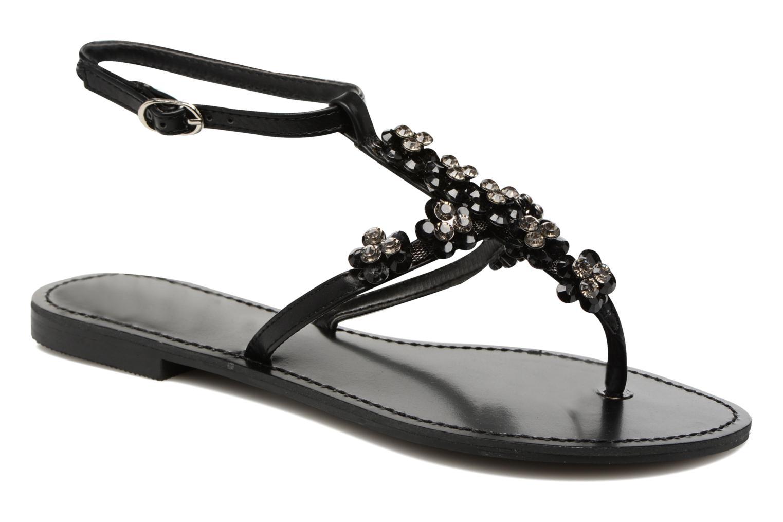 Sandales et nu-pieds Guess LESLIE Noir vue détail/paire