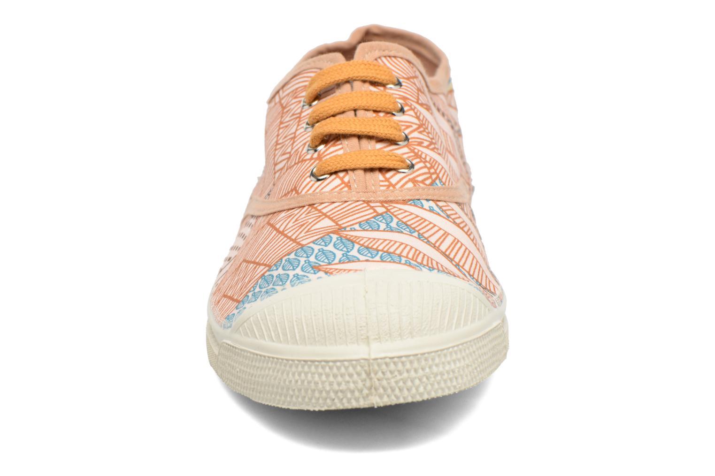 Baskets Bensimon Tennis Imprimés Multicolore vue portées chaussures