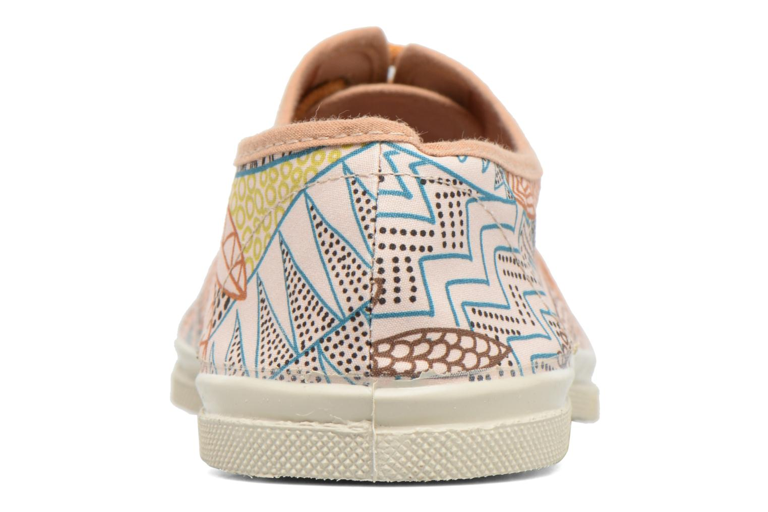 Trainers Bensimon Tennis Imprimés Multicolor view from the right