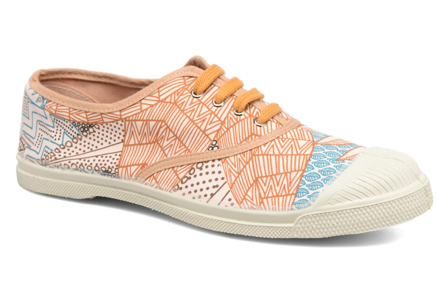Trainers Bensimon Tennis Imprimés Multicolor detailed view/ Pair view