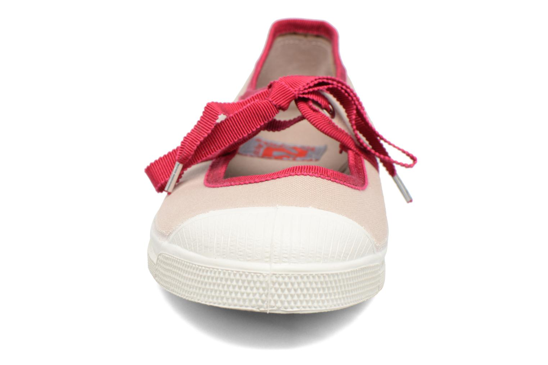 Ballerines Bensimon Tennis Gros Grain Beige vue portées chaussures