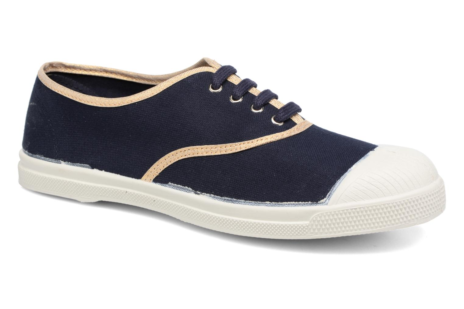 Denim Bensimon Tennis Shinypiping (Bleu)