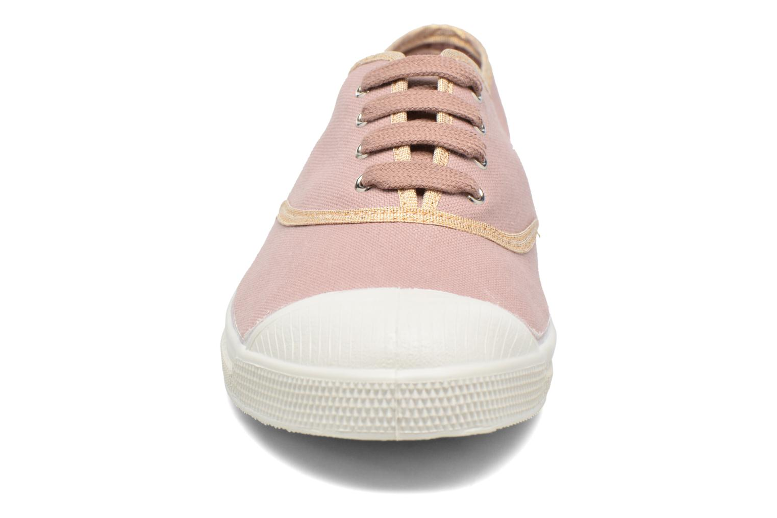 Trainers Bensimon Tennis Shinypiping Pink model view