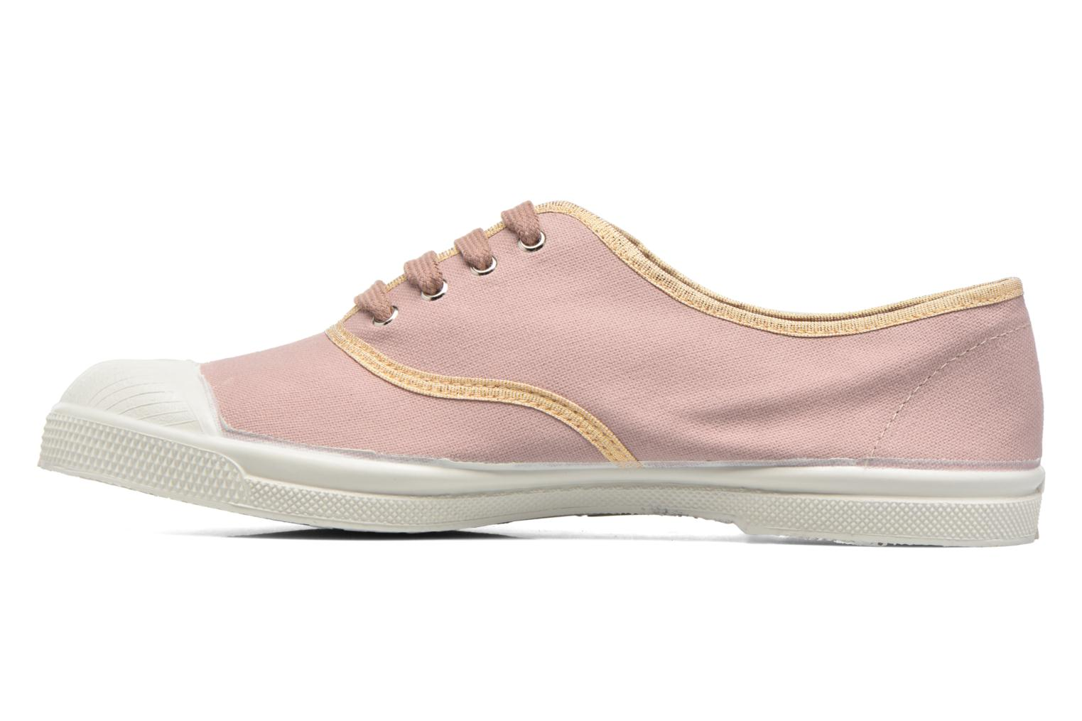 Trainers Bensimon Tennis Shinypiping Pink front view