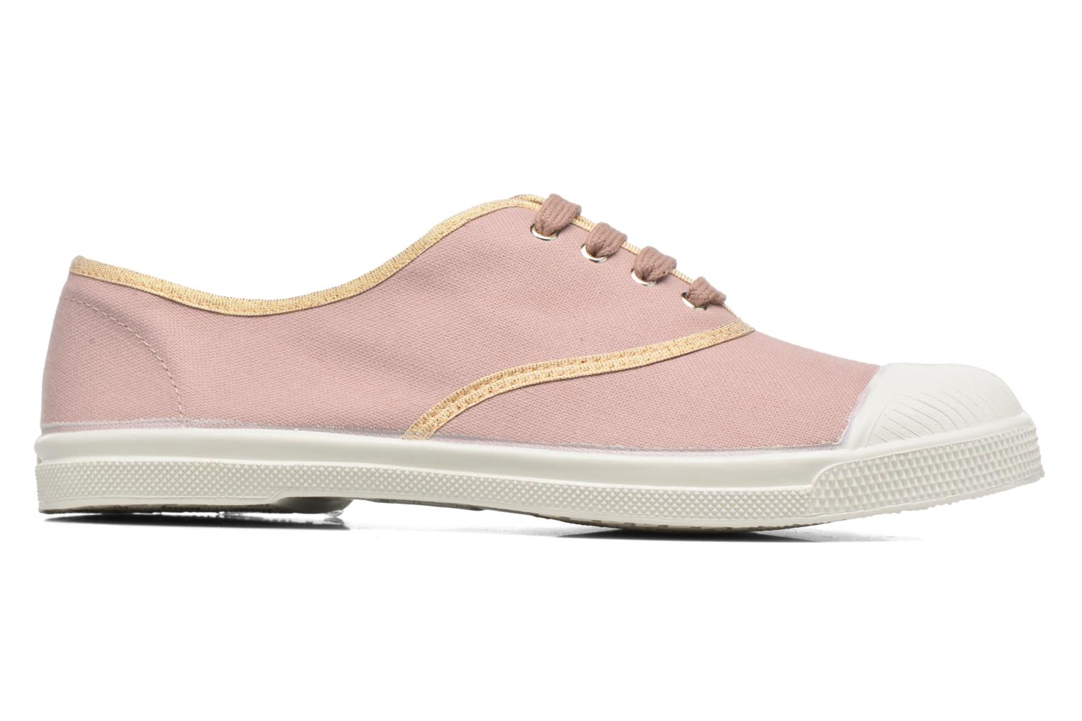 Trainers Bensimon Tennis Shinypiping Pink back view
