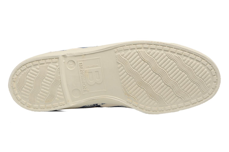 Sneakers Bensimon Tennis Rayures Transat Blauw boven