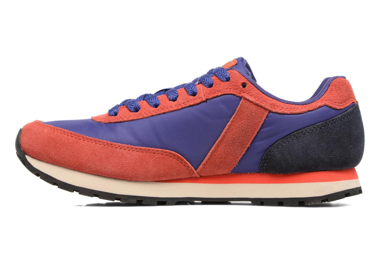 Trainers Bensimon Runnings Blue front view