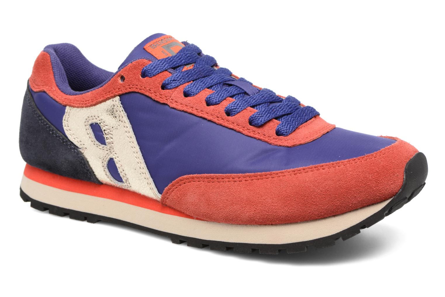 Trainers Bensimon Runnings Blue detailed view/ Pair view